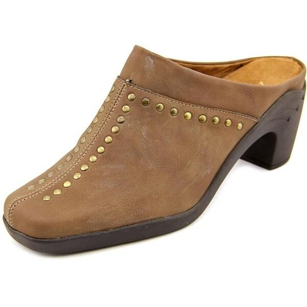 Aerosoles Apple Sawce Women  Square Toe Synthetic Brown Mules