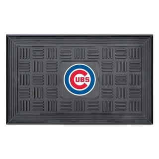 Chicago Cubs Medallion Door Mat