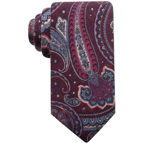 Tasso Elba Mens Paisley Self-Tied Necktie - One Size