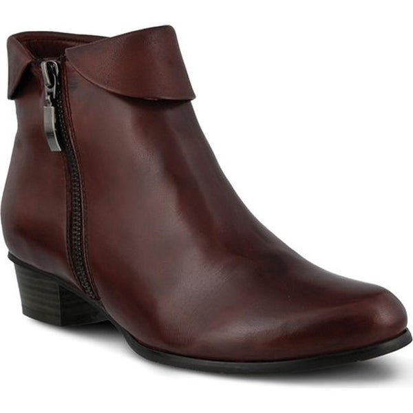 shop spring step women's stockholm bordeaux leather - free shipping