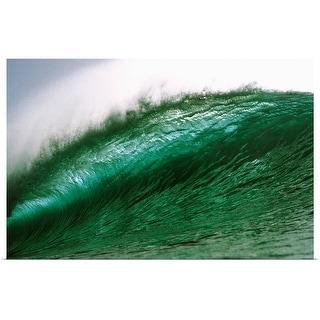 """Waves"" Poster Print"