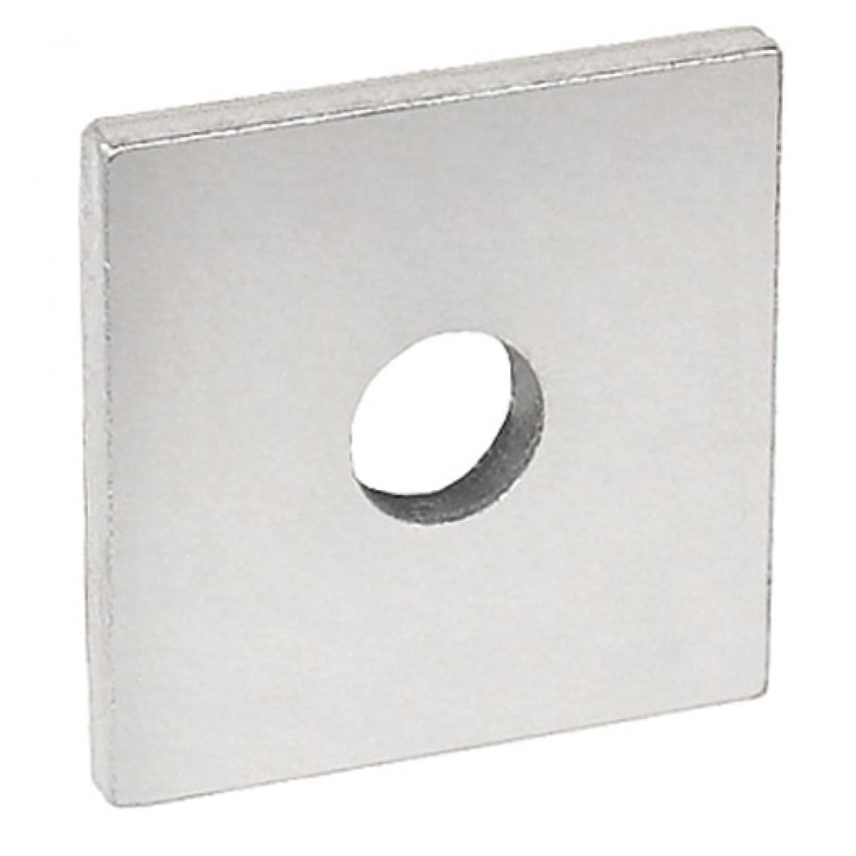 10 Pcs, 1-5/8 in. Square Strut Washer, for 5/8 in. bolt, Zinc Plated Steel, Zinc Plated Steel