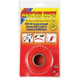"""Rescue Tape RT1000201208USC Silicone Tape, 1"""" X 12', Orange"""