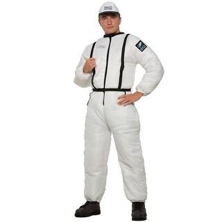 Forum Novelties Space Explorer Adult Costume - White - Standard