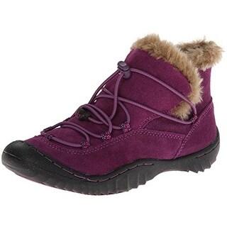 Jambu Acari Faux Fur Suede Hiking Boots