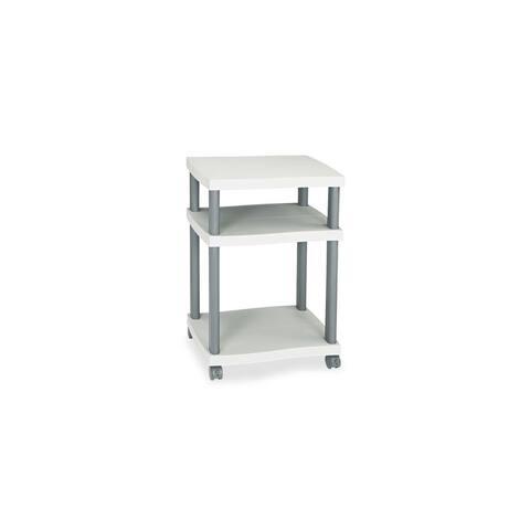 Safco Wave Design Printer Stand, Three-Shelf Wave Design Printer Stand
