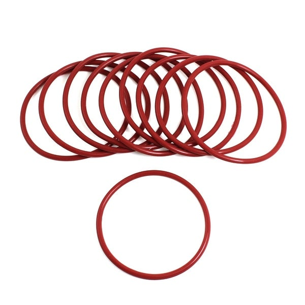 Unique Bargains 62mm x 3mm x 76mm Metric Rubber Sealing Oil Filter O Rings Gaskets 10pcs