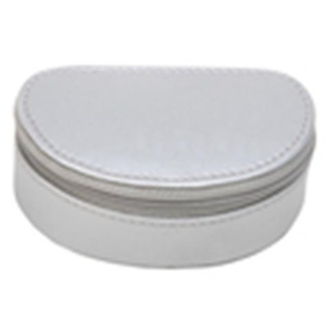 Premium 240-JB Premium White Leatherette Jewelry Boxes - Case of 64