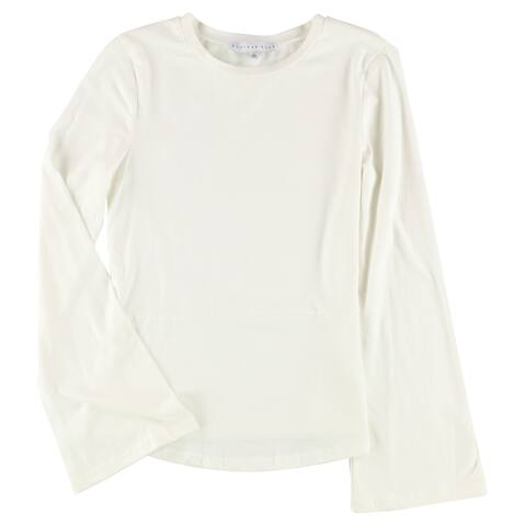 Endless Rose Womens Lantern Sleeve Basic T-Shirt