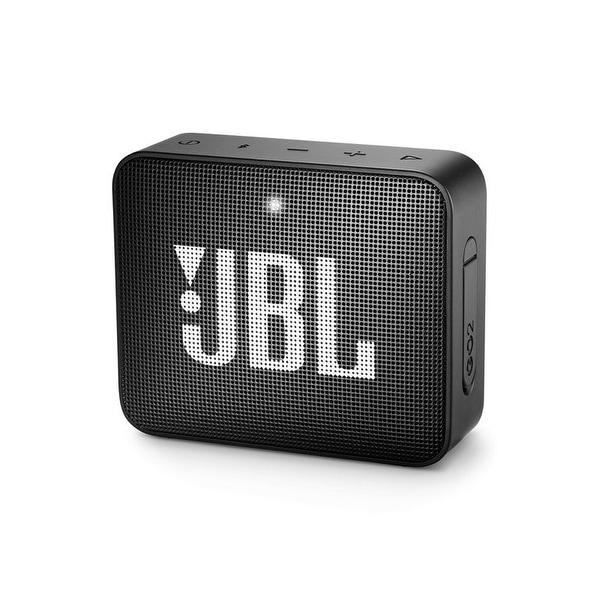 JBL Go 2 Black Portable Bluetooth Speaker