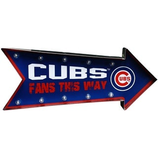Chicago Cubs Arrow Marquee Sign