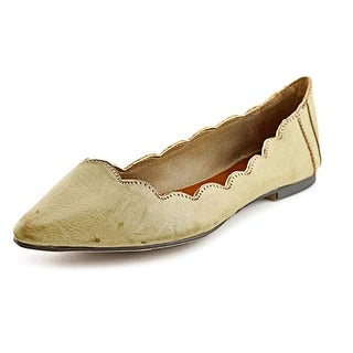 Mia Amari Pointed Toe Synthetic Flats