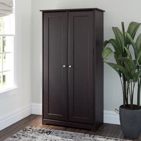 """Copper Grove Daintree Espresso Storage Cabinet - 31.38""""L x 16.30""""W x 61.14""""H"""