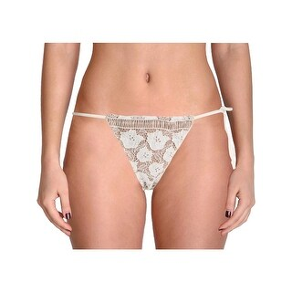 For Love & Lemons Womens Corsica Lace String Swim Bottom Separates