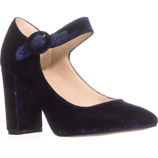 Marc Fisher Shaylie Mary Jane Heels, Medium Blue