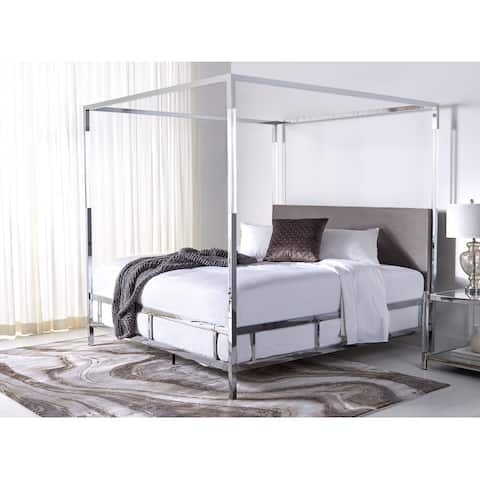 Safavieh Couture Dorothy Acrylic Canopy Bed