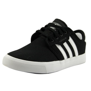 Adidas Seeley J Round Toe Canvas Skate Shoe