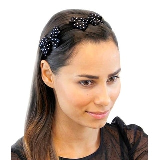 Double Trouble Twin Bows Stretchy Headbands