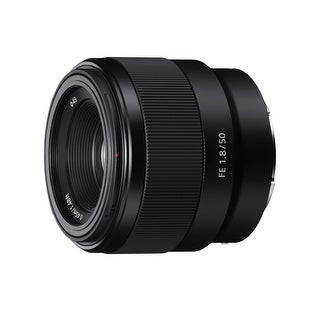 Sony FE 50mm F1.8 Lens - black