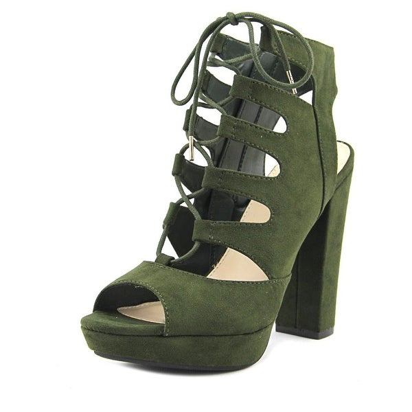 Bar III Nelly Women Olive Sandals