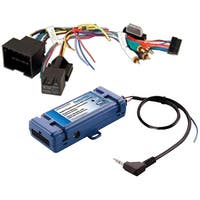 PAC Radio Replacement interface built in steering wheel control