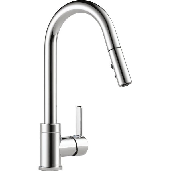 Shop Peerless P188152lf Pull Down Kitchen Faucet With Two Function
