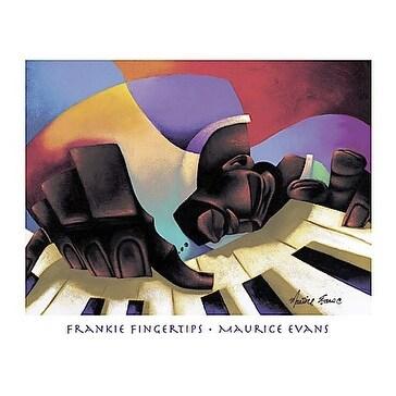 ''Frankie Fingertips'' by Maurice Evans Jazz Art Print (26 x 32 in.)