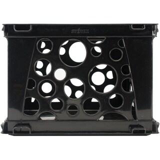 """Storex Mini Crate 9""""X7.75""""X6""""-Black"""