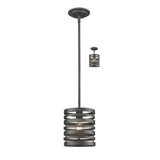 Zlite 441MP-BRZ 1 Bulb Mini Pendant Light - Bronze