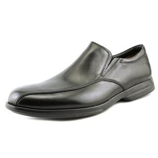 Clarks General Slip Men Round Toe Leather Black Loafer
