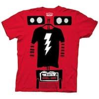 The Big Bang Theory Shel-bot Mens Costume T-shirt