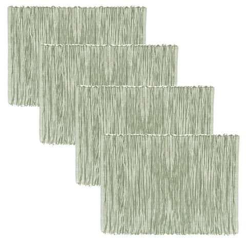 Fabstyles Shadows Cotton Placemats Set of 4 - 13x19