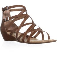 Born Mimi Strappy Gladiator Sandals, Light Brown