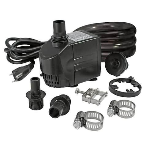 Design Toscano UL-listed, indoor/outdoor, 290 GPH Pump Kit