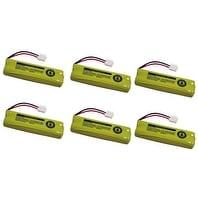 Replacement VTech BT18443 / BT28443 NiMH Cordless Phone Battery - 500 mAh / 2.4V -6Pack
