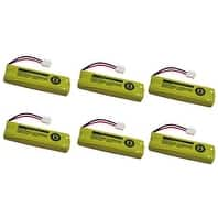 Battery for All Brands BT18443 (6 Pack) Replacement Battery