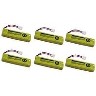 Replacement VTech LS6115-2 / LS6225 NiMH Cordless Phone Battery - 503 mAh / 2.4V -6Pack