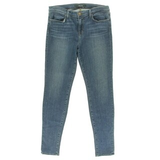 J Brand Womens Stretch Mid-Rise Skinny Jeans - 28