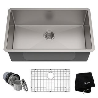Link to KRAUS Standart PRO Undermount 30-inch Stainless Steel Kitchen Sink Similar Items in Sinks