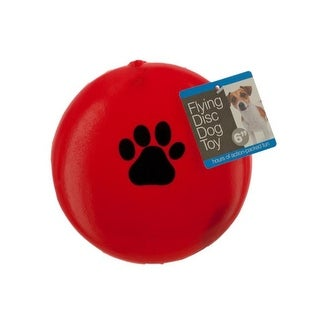 Bulk Buys DI533-24 Flying Disc Dog Toy