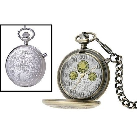 Doctor Who The Masters Fob Replica Pocket Watch - beige
