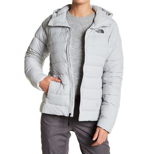 ca5d2d6d8 Shop The North Face Gray Womens Size Medium M Hooded Down Puffer ...