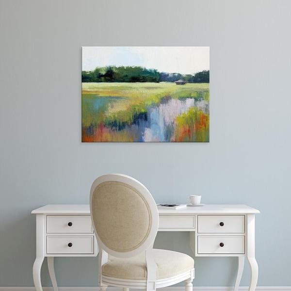 Easy Art Prints Sabre Esler's 'Clear Morning' Premium Canvas Art