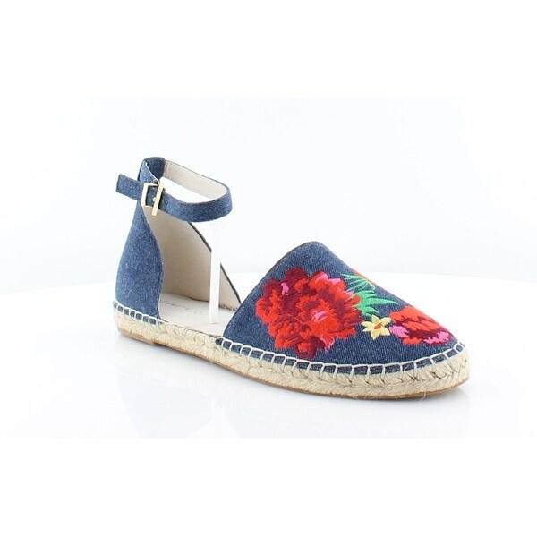 Kenneth Cole Blaire Women's Sandals & Flip Flops Blue Floral - 8.5