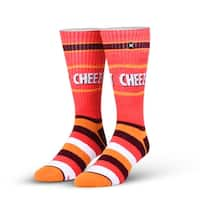 Cheez-It Knit Crew Socks, 6-13