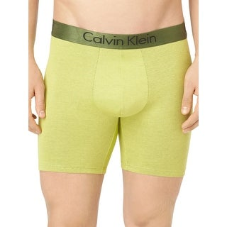 Dual Tone Boxer Brief In Citric - citric lime