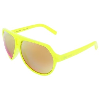 Dsquared DQ0093/S 41L Neon Yellow Aviator sunglasses