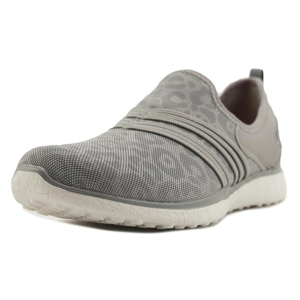 Skechers Microburst Under Wraps Women Grey Walking Shoes