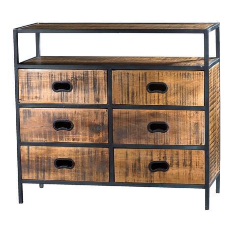 Milano Mango Wood 6-drawer Chest