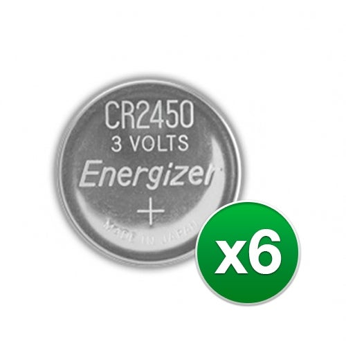 """""""Replacement Battery for Energizer CR2450VP 2Pack (6-Pack) Replacement Battery"""""""